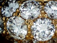 ギメル パヴェ ダイヤモンド リング