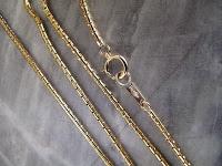 G021:中古 K18 7.6g ネックレス 40cm