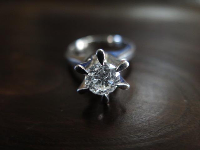 ダイヤモンド 鬼爪 リング 昭和