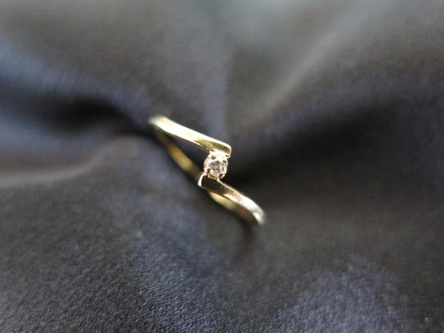 ミキモト ダイヤモンド リング K18
