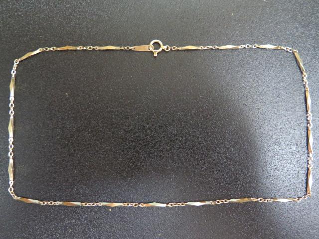 K18 キリコ ネックレス 42.5㎝ 9.2g 中古 /8251
