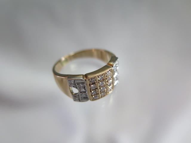ダイヤモンド K18 リング 中古 #11 /10429