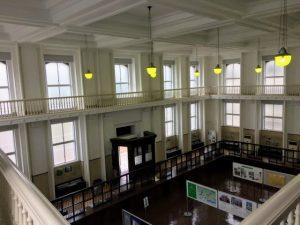 山口銀行 旧本店 内観